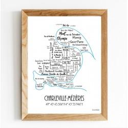 Poster le plan de Charleville